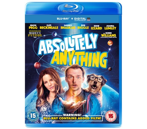 Win ABSOLUTELY ANYTHING on Blu-ray! sweepstakes