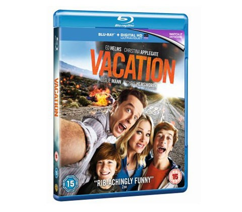 WIN VACATION on BLU-RAYÔ  OUT ON BLU-RAYÔ AND DVD DECEMBER 14 sweepstakes