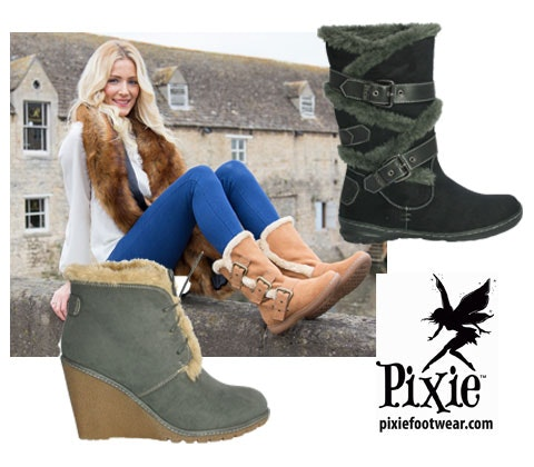 Pixie Footwear sweepstakes