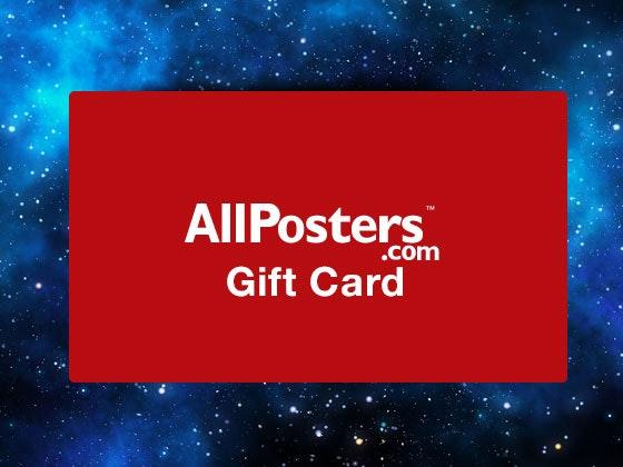 Starwarsallposters giftcard