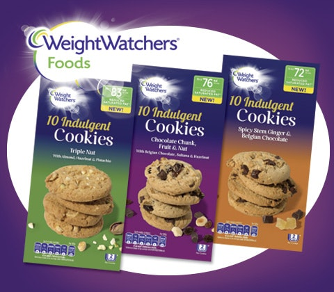 Weight Watchers Indulgent Cookie boxes sweepstakes