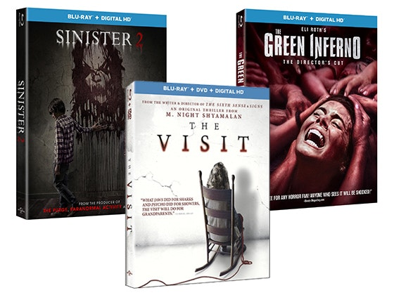 Horror movie prize giveaway