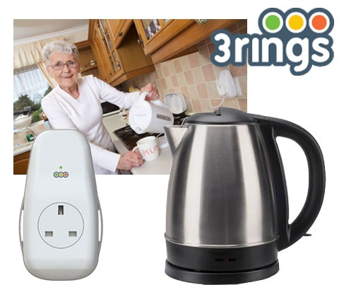 Win 3 x 3rings smartplug, subscriptions and kettles sweepstakes