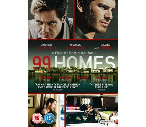 "Win a thriller bundle of DVDs with ""99 Homes""! sweepstakes"