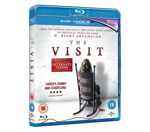 Win a Blu-ray of THE VISIT sweepstakes