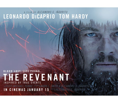 The Revenant prizes - In cinemas January 15th sweepstakes