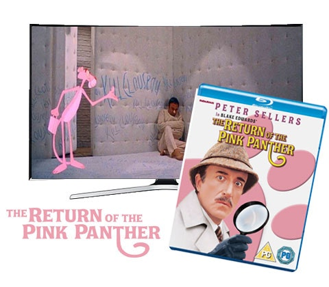 The Return Of The Pink Panther DVD sweepstakes