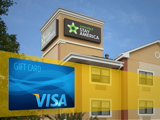 Extended Stay in America and VISA gift card sweepstakes