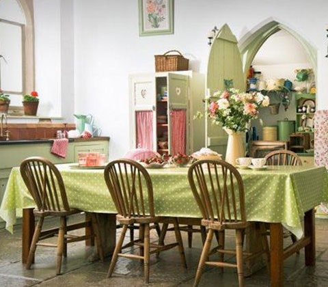 WIN A POLKA DOT WIPE CLEAN TABLECLOTH sweepstakes