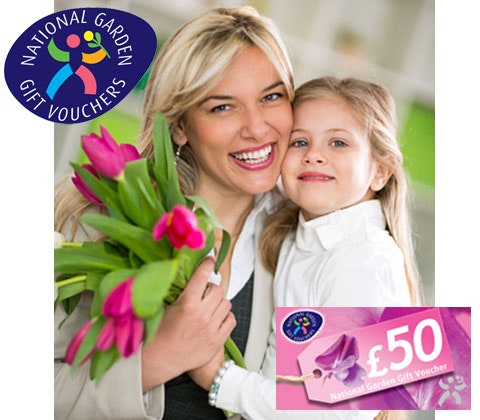 Win 10 x £50 National Garden Gift Vouchers sweepstakes