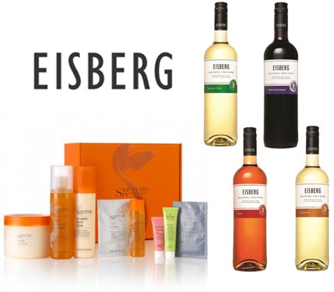 Win a luxury hamper with Eisberg alcohol free wine sweepstakes