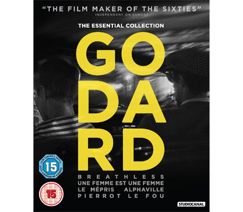 Jean-Luc Godard: The Essential Collection sweepstakes