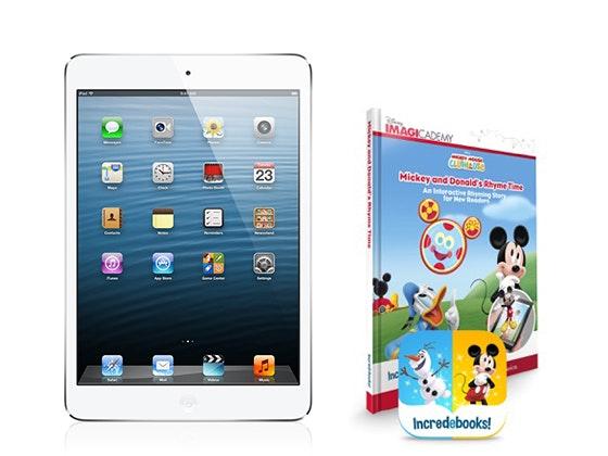 iPad Mini and Incredebooks sweepstakes