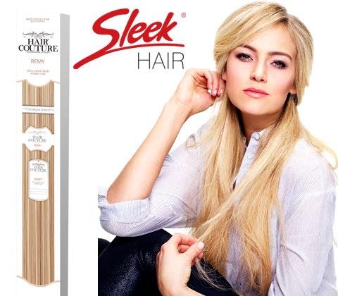 Win Sleek Hair extensions sweepstakes