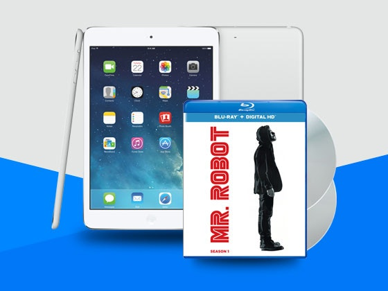 MR.ROBOT SEASON 1 Plus an iPad Mini sweepstakes