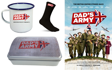 Win Dad's Army Merchandise!  sweepstakes