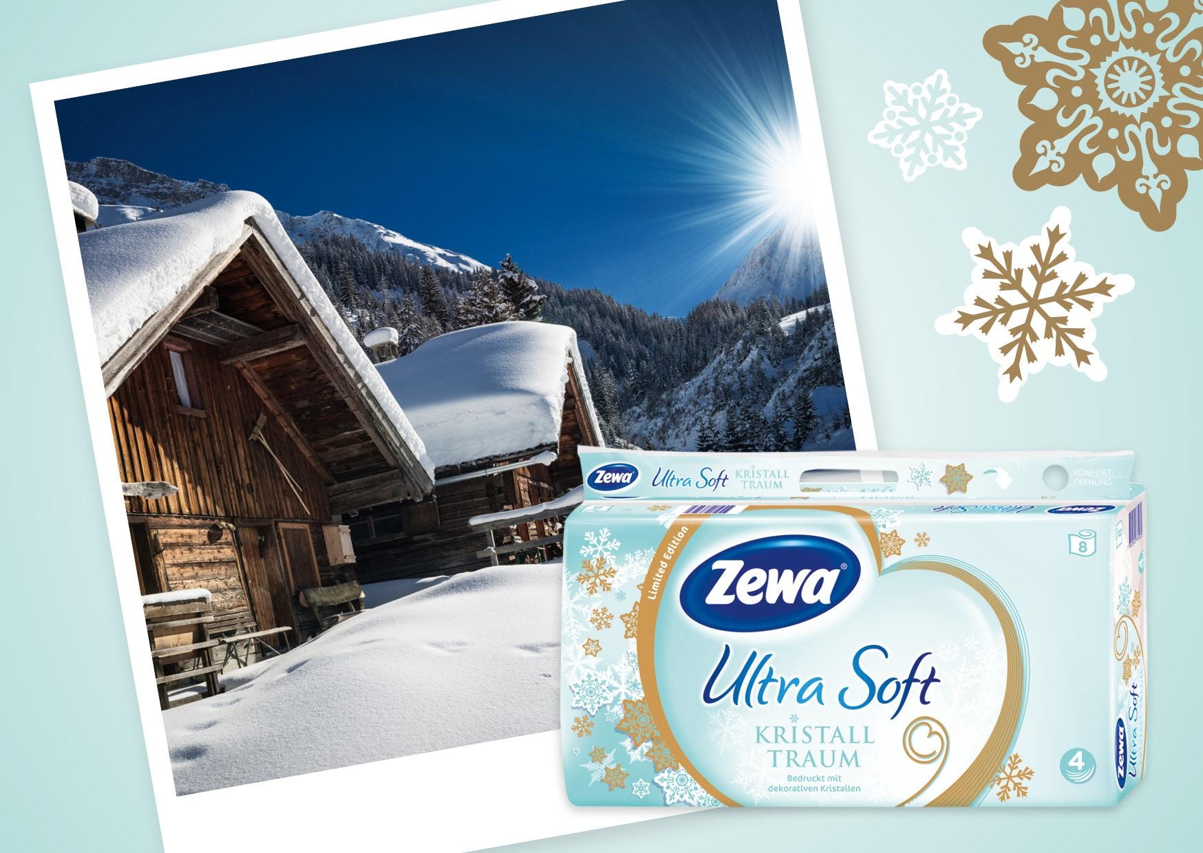 Mit Zewa in den Winterurlaub Gewinnspiel