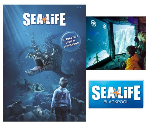 Win 3 x family ticket to SEA LIFE Blackpool  sweepstakes