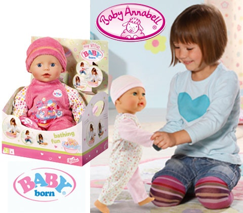 Win 4 x sets of BABY born® and Baby Annabell® sweepstakes