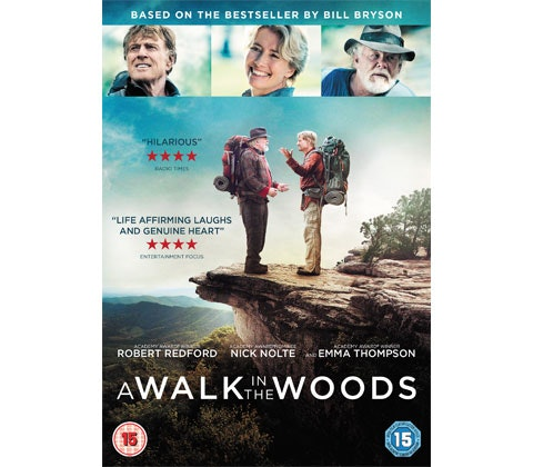 A Walk In The Woods DVD sweepstakes