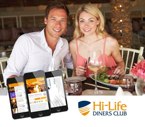 Hi-Life Diners Club Platinum Membership sweepstakes