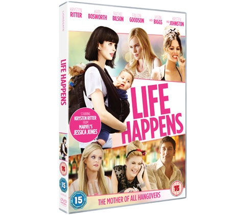 LIFE HAPPENS ON DVD. sweepstakes