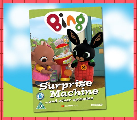 Bing Surprise Machine DVD and goodies sweepstakes