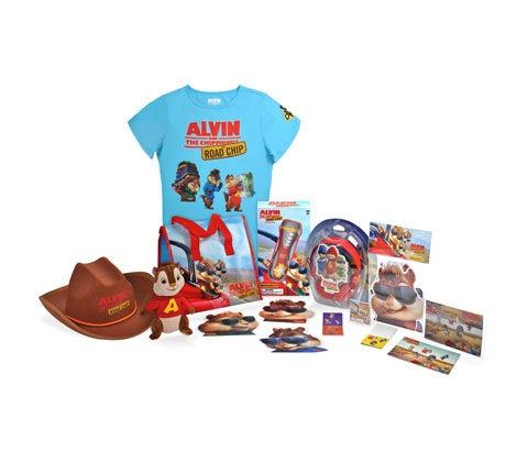 Alvin And The Chipmunks: The Road Chip Goodies! sweepstakes
