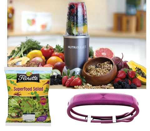 Win 2 x Nutribullets, activity trackers & Florette Superfood Salads sweepstakes