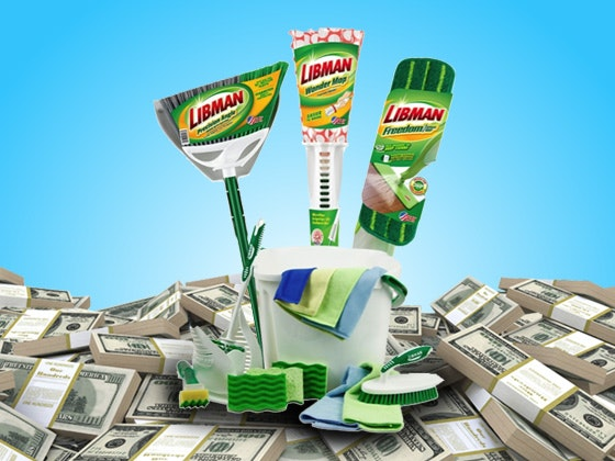 Libman embracethemess giveaway march
