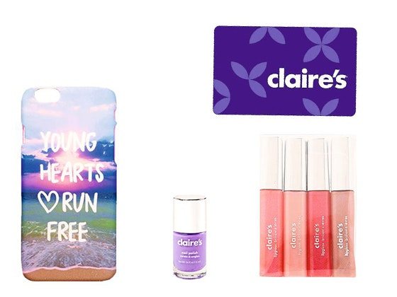 Quizfest claire's glam pack sweepstakes