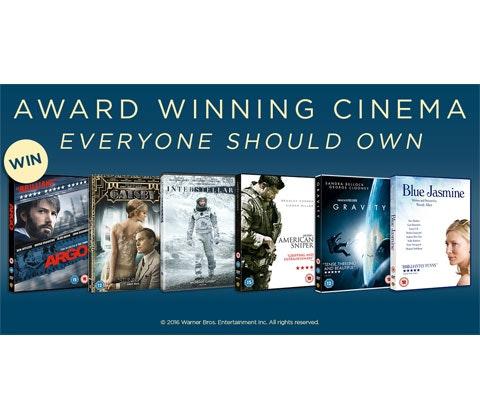 Oscar winning DVD bundle sweepstakes