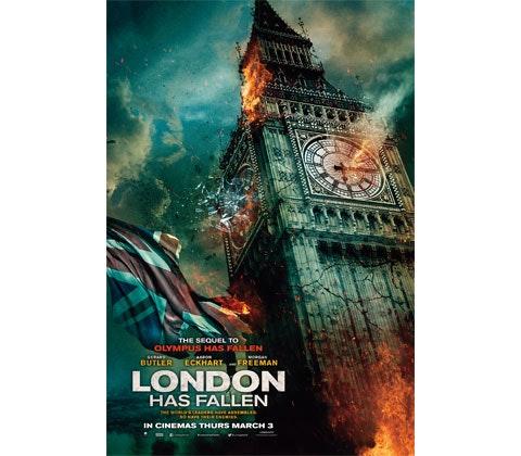 LONDON HAS FALLEN SURVIVAL GOODY BAG sweepstakes