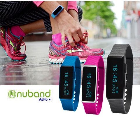 NuBand Activ+ Activity and Sleep Trackers sweepstakes