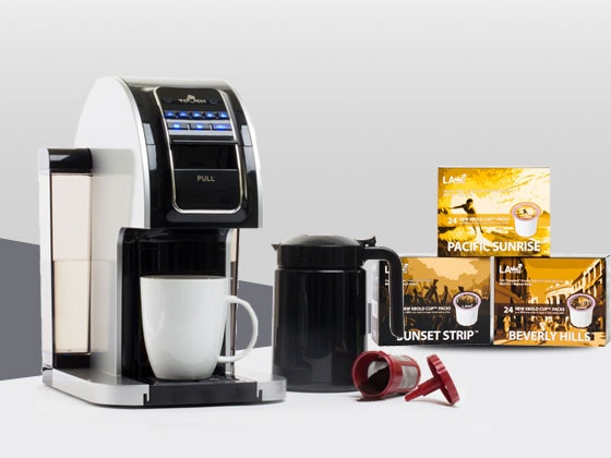 Touch coffee brewer giveaway