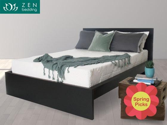 Zen bedding mattress giveaway spring picks