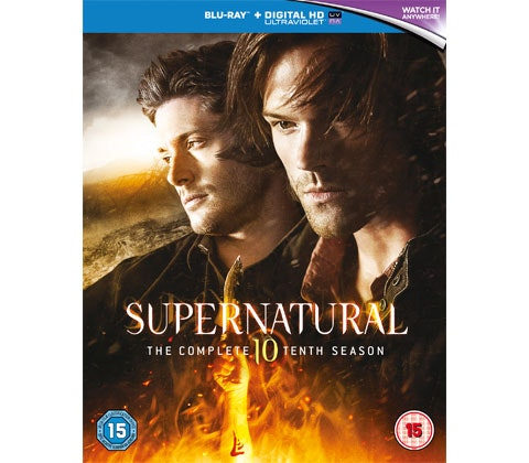 Supernatural: The Complete Tenth Season sweepstakes