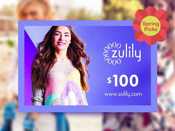 Zulily giftcard giveaway spring picks