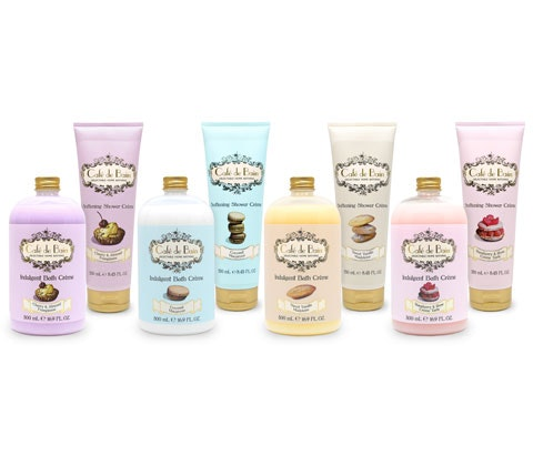 Café De Bain Bath and Shower Crème range sweepstakes