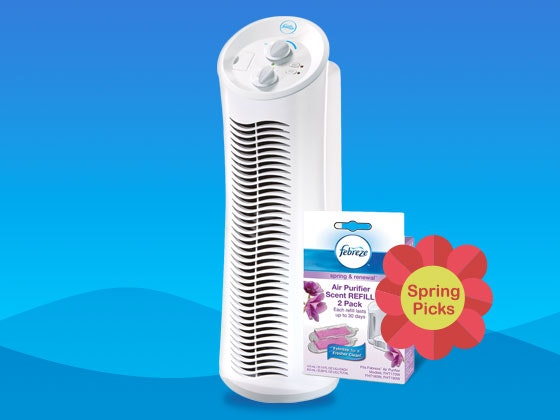 Febreze air purifier giveaway