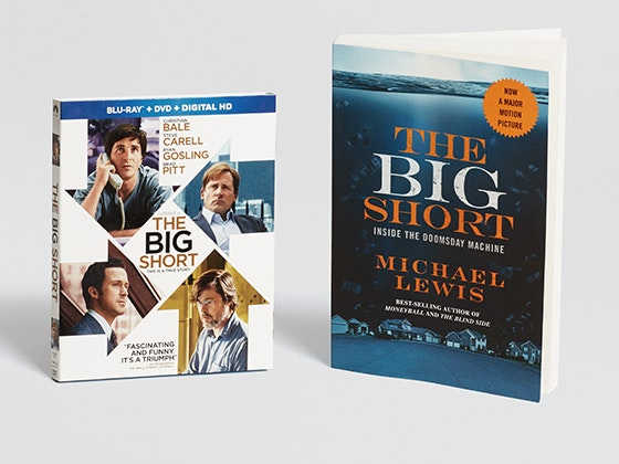 Big short book dvd giveaway