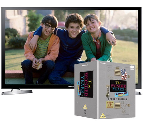 Win a Samsung Smart TV & The Wonder Years box set sweepstakes