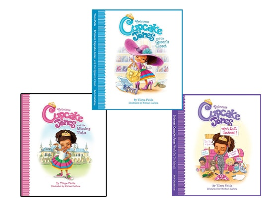Princess Cupcake Jones Books sweepstakes