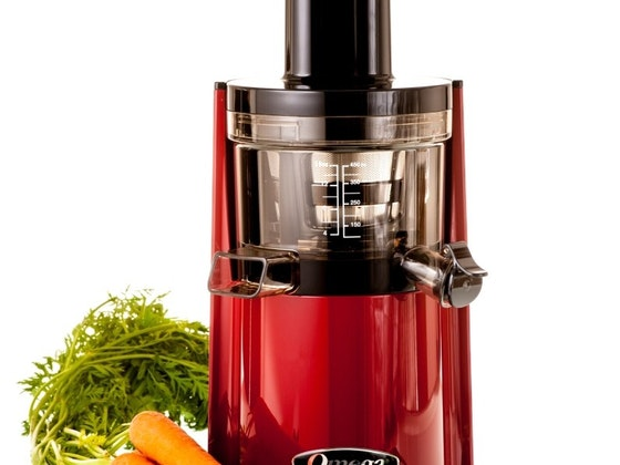 Slow Juicer Recipe Book : Win an Omega vSJ843R vertical Slow Juicer in red, silver ...