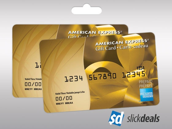 Slickdeals amex giveaway april 1