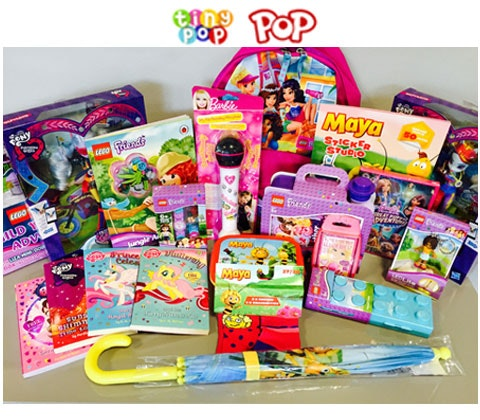 Win a Giant bundle of toys from Tiny Pop and Pop sweepstakes