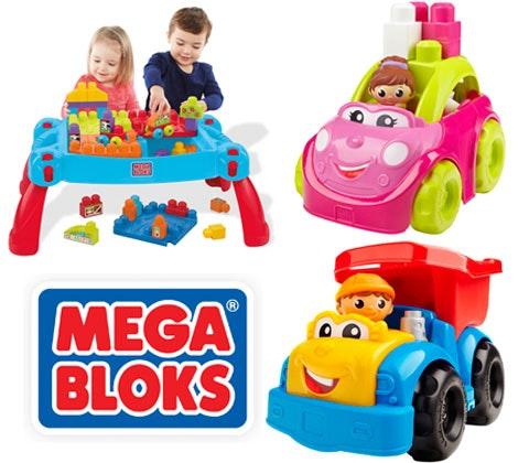Win 4 x Mega Bloks bundles sweepstakes