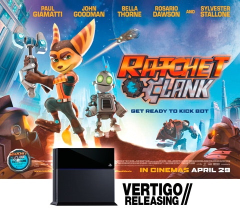 PlayStation® 4 and  New Ratchet & Clank™ Movie!  sweepstakes