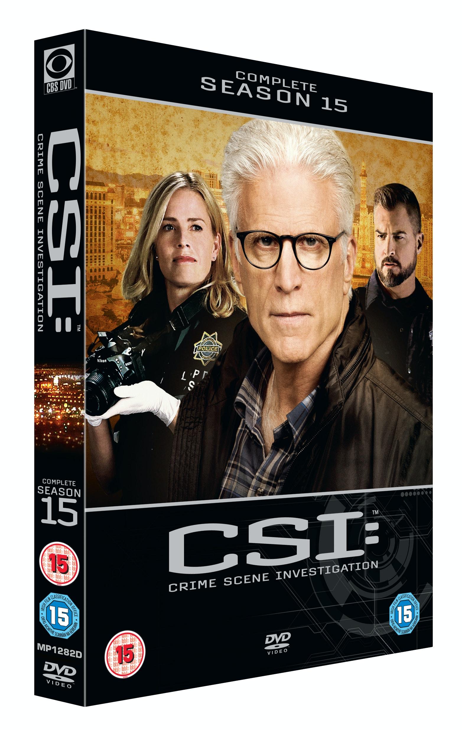 CSI box set sweepstakes