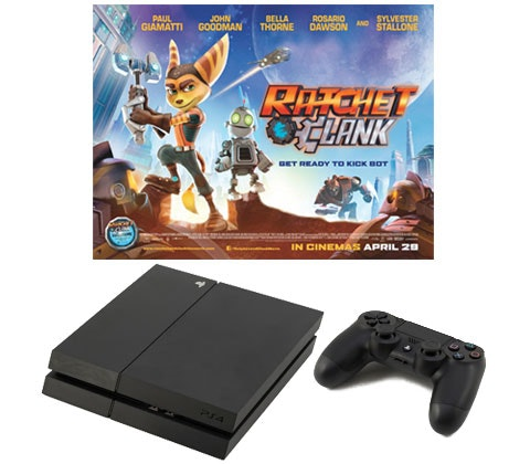 Win a PlayStation® 4, Blu-rays and Ratchet & Clank game sweepstakes